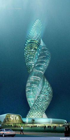 Cobra Tower In Kuwait ~ Modern day castle