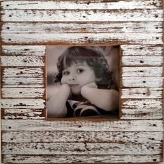 Recycled Wood White Mini Jigsaw Picture Frame (Thailand) | Overstock.com