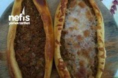 Kıymalı Pide – Nefis Yemek Tarifleri Baked Potato, Tacos, Mexican, Baking, Ethnic Recipes, Desserts, Food, Tailgate Desserts, Deserts