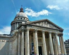 Panthéon in Paris, Île-de-France. Contains the exhibit of Foucault's Pendulum as well as the burial places of Voltaire and other luminaries.