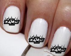 20 pc Chevy Logo Nail Art Style 2 #cg0na40