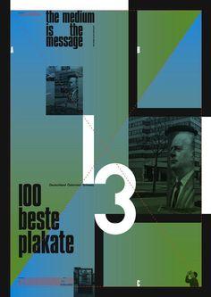 Start des Wettbewerbs »100 beste Plakate 13 – Deutschland Österreich Schweiz« | Slanted - Typo Weblog und Magazin