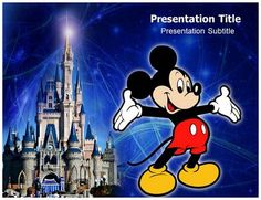Mickey Mouse - Powerpoint #Template