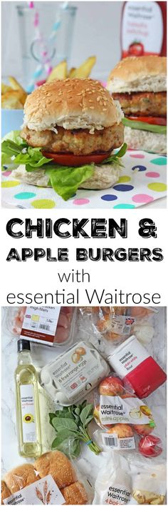 Chicken & Apple Burgers - My Fussy Eater   Easy Kids Recipes