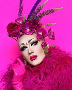 Sasha Velour / Drag Queen / RuPaul's Drag Race  Check out some awesome drag queen t-shirts at http://itsdrag.com/