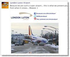 Luton Airport fail