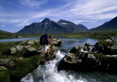 Hiking through the Sarek National Park - Laponie en Suède Kingdom Of Sweden, Visit Sweden, Native Country, Lappland, Paradis, Travel And Tourism, Outdoor Activities, Trekking, Denmark