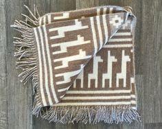 Alpaca throw from Peru