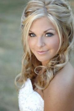Image Detail for - Bridal hairstyles half up half down with veil pictures 1