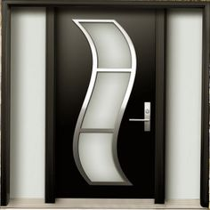 Modern Kitchen Entrance Doors deanta single pocket contemporary design cadiz walnut prefinished