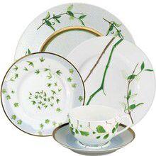 Verdures Dinnerware by Reynaud