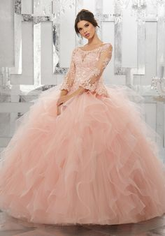 Mori Lee Collection Style #89153 #quinceaneradress #mis quince #quinceañera #vestidosdequince #quinceaneramall