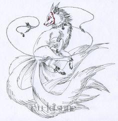 masked kitsune