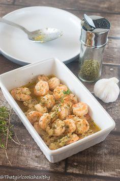 Garlic butter shrimp3