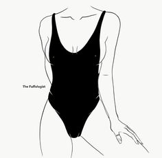 Shared by ॐ. Find images and videos about girl, fashion and cute on We Heart It - the app to get lost in what you love. Body Sketches, Drawing Sketches, Easy Love Drawings, Comic Art Girls, Outline Art, Body Drawing, Beauty Art, Aesthetic Art, Erotic Art