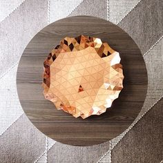 Details we like / Bowl / Copper / Strukture / Foldable / Home Interiour / at Design Binge