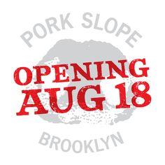 Pork Slope- in Brooklyn- love the name