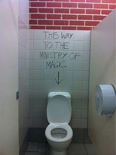 Harry Potter humor never dies