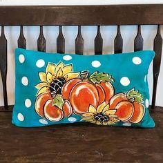 Pumpkin Crafts, Fall Crafts, Arts And Crafts, Door Crafts, Fall Door Hangers, Pumpkin Pillows, Fall Pumpkins, Porch Decorating, Christmas Diy