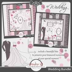 http://shop.scrapbookgraphics.com/Wedding-Bundle.html