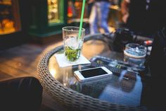 Evening Mojito with iPhone 5s