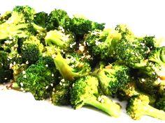Garlic Sesame Broccoli Stir Fry Side Dish - Skinny Kitchen