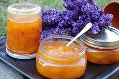 Levendulás ötlet, hogyan tegyük különlegessé a befőzött sárgabarackot. Root Cellar, Ketchup, Pickles, Cantaloupe, Pantry, Canning, Fruit, Food, Table