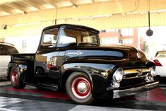 1956 FORD CUSTOM PICKUP Maintenance of old vehicles: the material for new cogs/casters/gears could be cast polyamide which I (Cast polyamide) can produce Ford 56, 1956 Ford Truck, F100 Truck, Old Ford Trucks, Old Pickup Trucks, 1956 Ford F100, Classic Pickup Trucks, Ford F Series, Old Fords