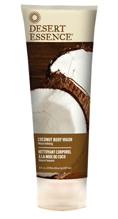 Coconut Body Wash - Gently cleanses skin without stripping it of its natural moisture