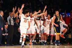 Virginia vs. West Virginia Basketball Highlights (2015-16)