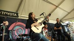 "The gypsy punk band, Gogol Bordello, performed at the Toyota Music Stage as part of ""Musica y Destinos con Toyota"""
