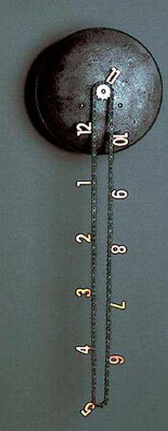 10 DIY Tisch- und Wanduhrprojekte - 10 DIY Table and Wall Clock Projects Fahrradkette Wanduhr Wall Clock Project, Clock Wall, Wall Clock Design, Baby Dekor, Diy Tisch, Cool Clocks, Unusual Clocks, Unique Wall Clocks, Diy Clock