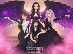Black Pink Background, Foto Rap Monster Bts, Pink Drawing, Blackpink Poster, Black Pink Dance Practice, Lisa Blackpink Wallpaper, Blackpink Memes, Kpop Drawings, Drawings Of Friends