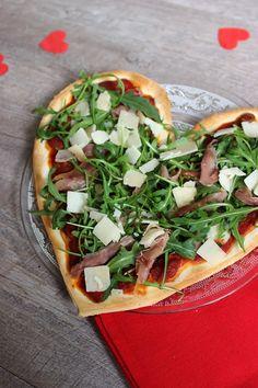 Bonjour Darling - Blog Illustration, Cuisine et DIY Bordeaux: SOS Repas de Saint-Valentin en 30min #1 : Pizza d'amour