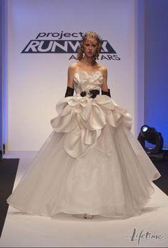 Project Runway All Stars Austin Scarlet Finale Dress.