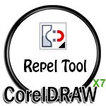 Repel Tool Icon in CorelDRAW