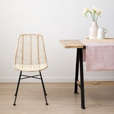 Giftry - The social wish list that helps you get (or give) the gifts you actually want. Dining Chairs, Dining Room, Dining Table, Natural Home Decor, Rattan Furniture, Sweet Home, Interior, Small Living, Condo