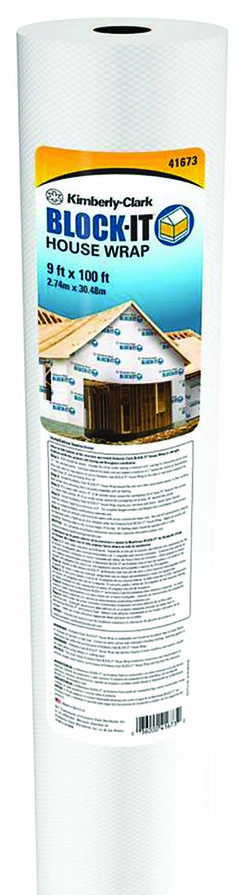 Kimberly Clark BLOCK-IT* Housewrap, recommended by Family Handyman