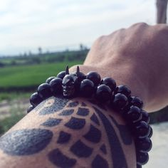Natural Black Agate Fashion Bracelet Bangles for men Batman Charms Bracelets For Women Femme Gift Pulsera Hombre 2016 Fashion 2017, Trendy Fashion, Blue Fashion, Black Agate, Black Silver, Beautiful Gifts, Cool Style, My Style, Fashion Bracelets