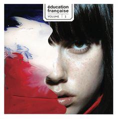 cover album: une education française  graphic design & art direction: www.sarahkahn.fr