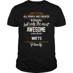 WATTS Name tee Shirts