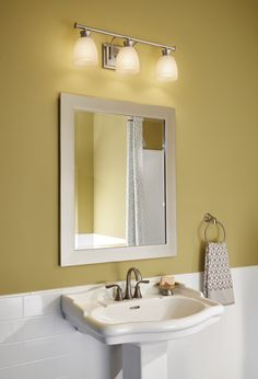 looking for new ideas for your bathroom vanity lighting how about a vintage fixture above bathroom sink lighting