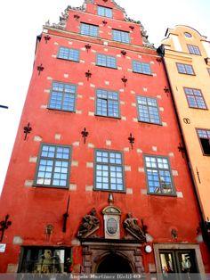 Plaza Mayor Estocolmo (Suecia)  -casco antiguo edificio 1630