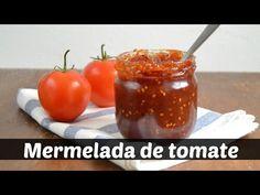 Mermelada de tomate casera. Receta fácil - YouTube Delicious Desserts, Health Fitness, Gluten, Pudding, Vegetables, Cooking, Healthy, Food, Youtube