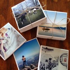Wanted to make some inexpensive and personal presents for my family and friends this holiday.  I started by curating photos I have taken for each indi...