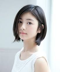 Image result for short hairstyles for heart face asian