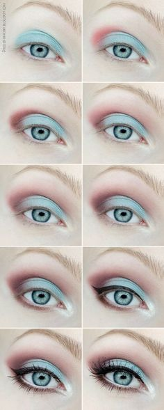 We love mixing and matching pastel eye shadows for a stunning spring look! Check out this beauty tutorial to achieve this spring beauty look!
