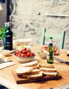 the italian table....