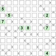 Number Logic Puzzles: 24290 - Futoshiki size 9