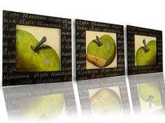 Resultado de imagen para pinturas de manzanas verdes